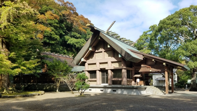 日本三大金運神社 安房神社