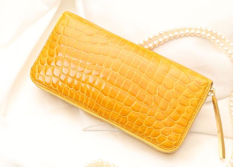 幸せの黄色い財布 池田工芸 ルミナー スマート