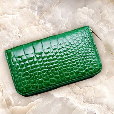 金運&運気アップする緑の財布のおすすめ池田工芸 ルミナー スマート