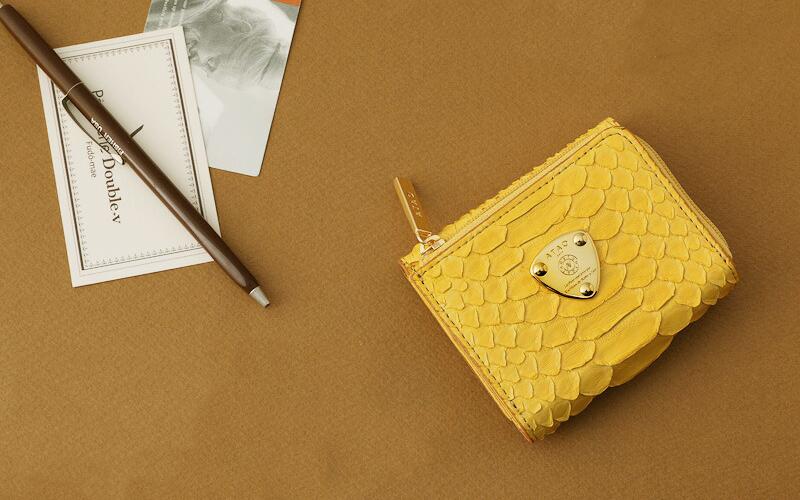 金運や恋愛運が上がる!ATAOの黄色い財布 ワルツ パイソン