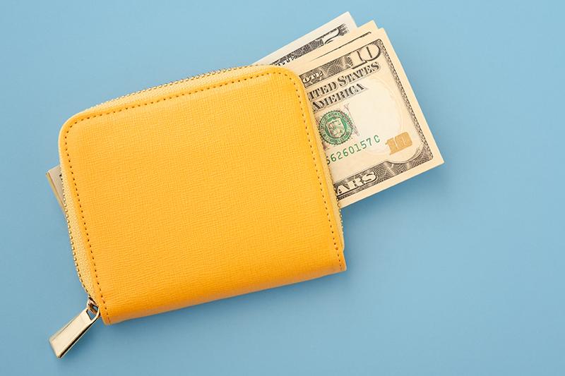 黄色い財布の風水的な効果