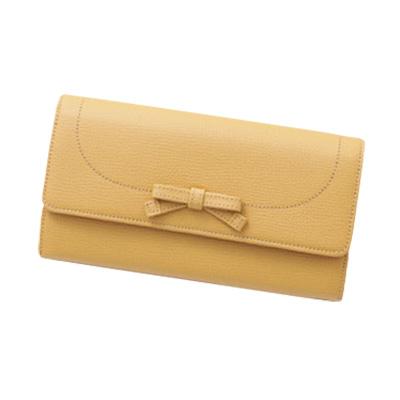 幸せと金運を呼び込む黄色い財布 傳濱野 モーナウォレット